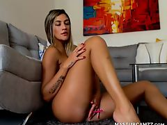 Excited Nice Ass Camgirl Does A Sexy Camshow