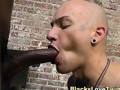 White prisoner blows load