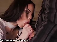 OnlyTeenBlowjobs Manipulative Teen Sucks of Piano Teacher!