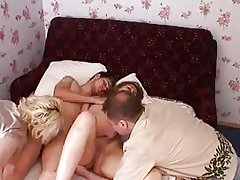 Russian Old And Young Swinger Couple - Episode 3