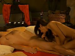 Sensual Blowjob From Indian MILF