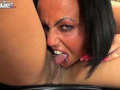 Two dirty amateur lesbians love to get nasty