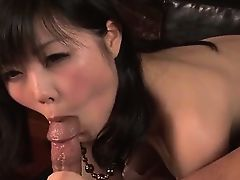 Lingerie model, Hikaru Kirameki, takes big dick in her holes