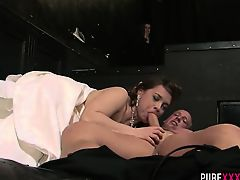 Sexy Victoria Summers fucked hard by Ricky Stone